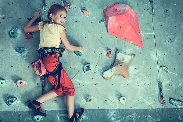 Kind Boulderwand