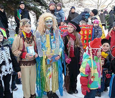 Eisfasching zu den Wintersportwochen in Schierke